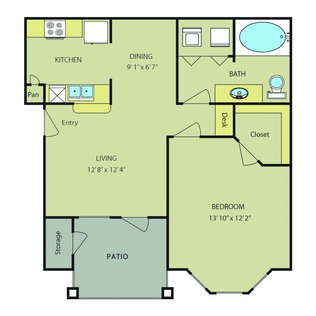 One Bedroom Apartments in San Antonio