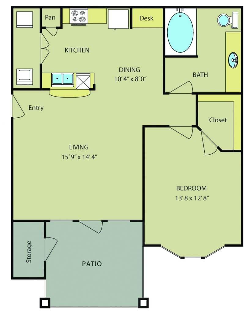 One Bedroom Apartments in San Antonio