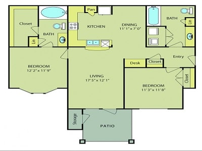 Two Bedroom Apartment Hunting-Apartments for rent San ...