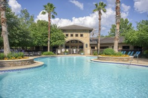 One Bedroom Apartments in San Antonio, TX - Pool & Clubhouse (2)