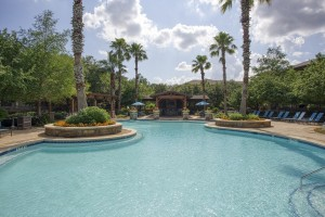 One Bedroom Apartments in San Antonio, TX - Pool and Pergola