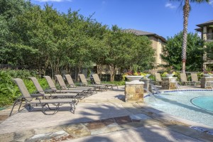 Two Bedroom Apartments in San Antonio, TX - Poolside Area (2)