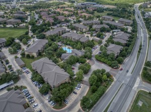 One Bedroom Apartments in San Antonio, TX - Aerial View