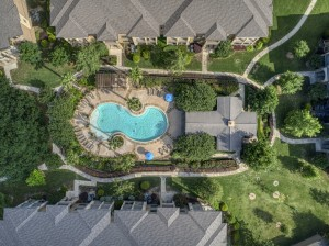 One Bedroom Apartments in San Antonio, TX - Aerial View (7)
