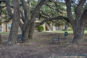 Two Bedroom Apartments in San Antonio, TX - Outdoor Bench Area