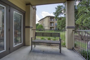1 Bedroom Apartments For Rent in San Antonio, TX - Apartment Patio (2)
