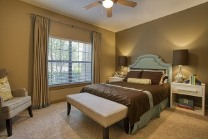 2 Bedroom Apartments For Rent in San Antonio, TX - Model Bedroom