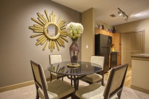 2 Bedroom Apartments For Rent in San Antonio, TX - Model Dining Room & Kitchen