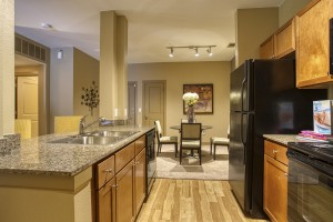 2 Bedroom Apartments For Rent in San Antonio, TX - Model Kitchen & Dining Room