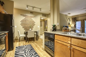 2 Bedroom Apartments For Rent in San Antonio, TX - Model Kitchen & Dining Room (2)